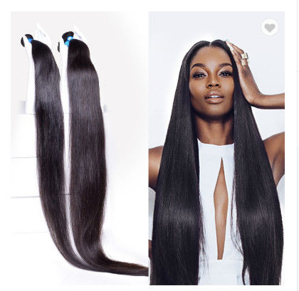 40 Inch 100% Peruvian Human Hair Weave For Black Women No Synthetic